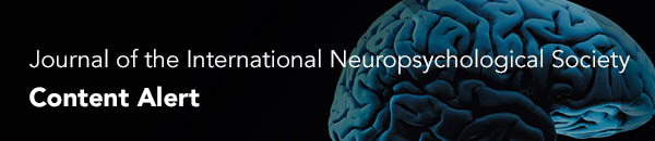 Click here to visit Journal of the International Neuropsychological Society